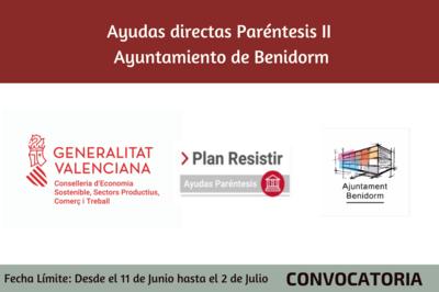 Ayudas Económicas Covid 19 - Ayuntamiento de Benidorm
