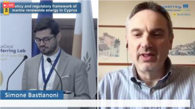 """Dando pasos hacia la capitalización de la """"Blue Energy"""" en Chipre"""