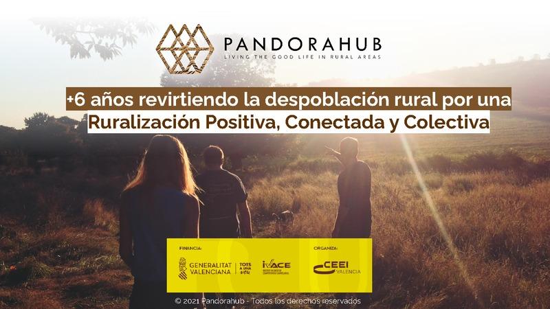 """Presentación Diana Moret """"PandoraHub"""""""