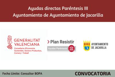 Ayudas Económicas Covid 19 - Ayuntamiento de Jacarilla