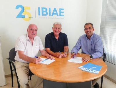 Acuerdo colaboración IBIAE y Circular Economy Institute