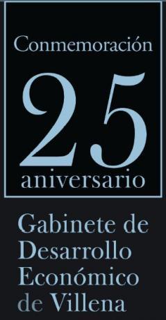 Villena, 25 años Gabinete Desarrollo Economico #