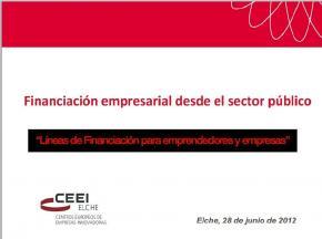 """""""Líneas de Financiación para emprendedores y empresas IVF"""""""