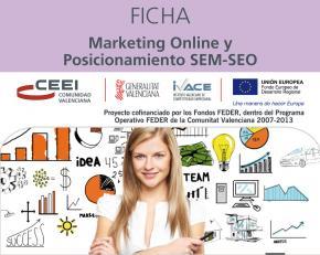 Marketing Online y Posicionamiento SEM-SEO
