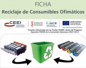 Reciclaje de Consumibles Ofimáticos