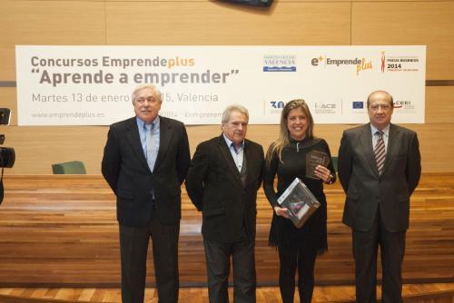 Natalia Martínez ganadora de Entrepreneur Experience