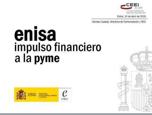 Líneas de Financiación de ENISA 2015
