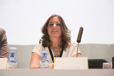 Lucía Molina, Bitmarketing, durante la sesión 'De startup a pyme' de Focus Pyme y Emprendimiento 2016