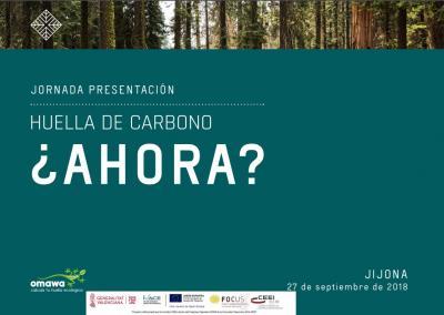 Huella de Carbono ¿Ahora?. Presentación de Omawa