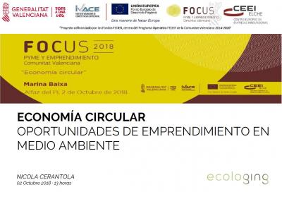 Economía circular. Oportunidades de emprendimiento en medio ambiente