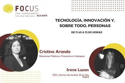 Cristina Aranda parlarà a Focus Pime Alacant del valor de la tecnologia en les persones