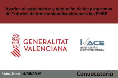Ayudas al seguimiento y ejecución de la Tutorías de Internacionalización para las PYME