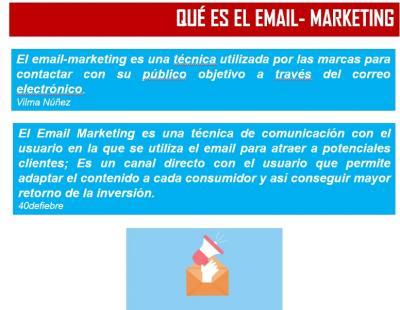 Ponencia Descubre las ventajas del email de Marketing para tu Empresa