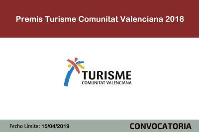 Premios Turisme Comunitat Valenciana 2018