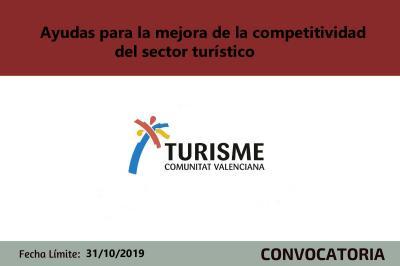 Ayudas mejora competitividad turística