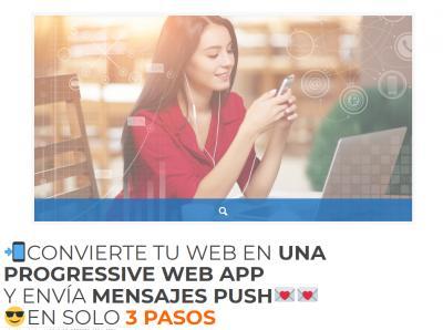 📲Como crear tu WEB APP PROGRESIVA (PWA) en 3 PASOS