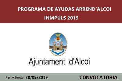 Ayudas arrenda Alcoi - Programa Inmpuls 2019