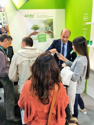 ADBioplastics en la feria K 2019 - Alemania