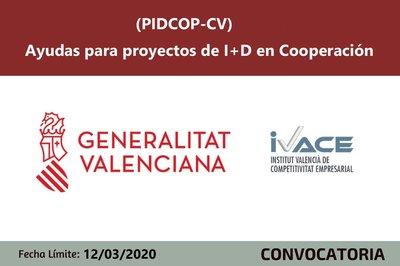 Ayudas PIDCOP-CV 2020