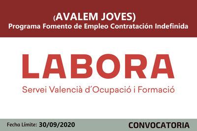 Avalem Joves - Fomento de Empleo Contratación Indefinida
