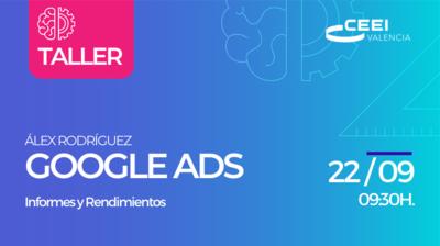 Taller Informes y Rendimientos Google Ads