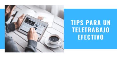Consejos para un Teletrabajo efectivo