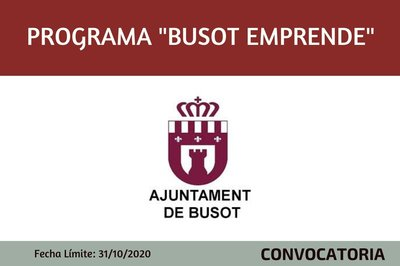 "Programa ""Busot Emprende"""