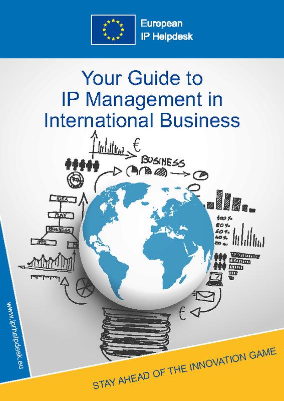 La gestión de la Propiedad Industrial e Intelectual en los Negocios Internacionales