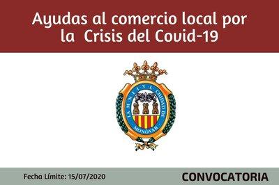 Ayudas al comercio local por CRISIS  COVID19 - Ayuntamiento de Monóvar