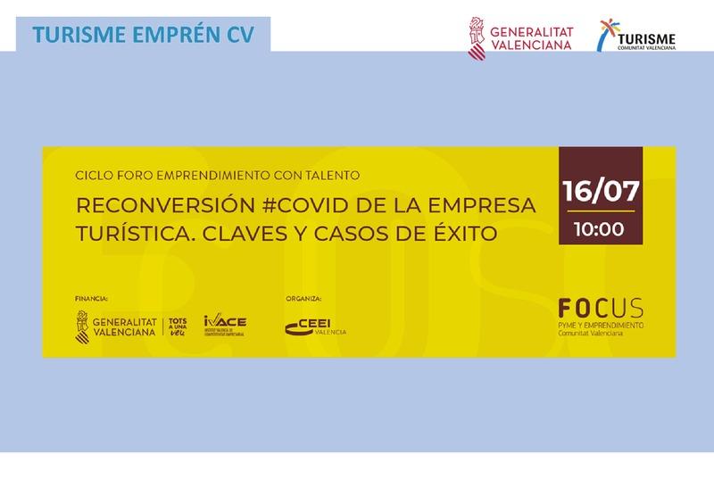 Presentación sesión Reconversión #Covid de la empresa turística. Claves y casos de éxito