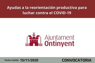 Ayudas  empresas Ontinyent reorientación productiva covid19