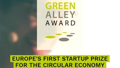 Green Alley Award 2020 for new companies and entrepreneurs in the circular economy