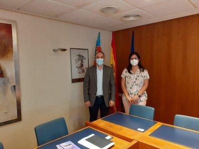 Diputació y Generalitat colaboran en proyectos emprendedores y desarrollo rural