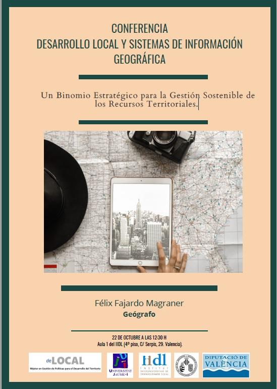 Conferencia Desarrollo local y sistemas de información geográfica