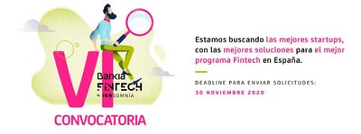 convocatoria Bankia Fintech e Innsomnia