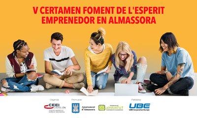 V Certamen Foment de l'Esperit Emprenedor en Almassora. CATEGORÍA PROYECTO EMPRESARIAL