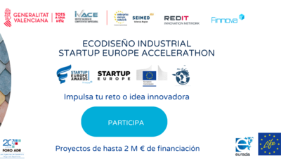 Ecodiseño Industrial Startup Europe Accelerathon