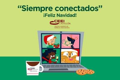 CEEI Castellón os desea Feliz Navidad y feliz 2021