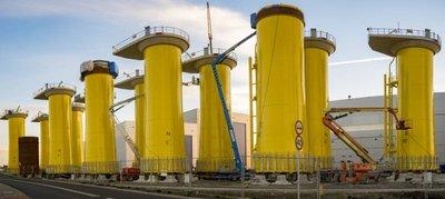 Desarrollos significativos sobre la energía eólica marina en el Mar Báltico