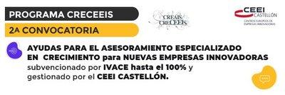 2ª convocatoria Programa CRECEEIS
