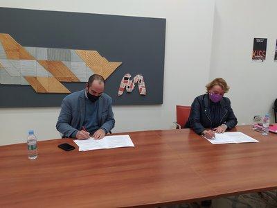 Firmamos un acuerdo con la Mancomunitat de l'Horta Sud para realizar prácticas en los ayuntamientos de la comarca