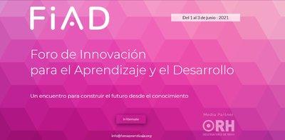 Foro de Innovación para el Aprendizaje y el Desarrollo – FiAD
