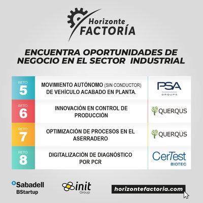 Más de 50 empresas de toda España aplican a los cuatro retos lanzados por la industria en Horizonte Factoría 2020