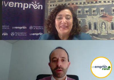 La Diputació i la Universitat de València fomenten l'emprenedoria en xicotets municipis a través de Emprén Rural