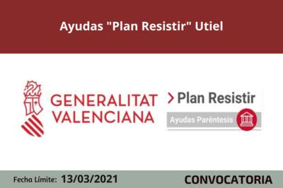 """Ayudas """"Plan Resistir"""" en Utiel"""