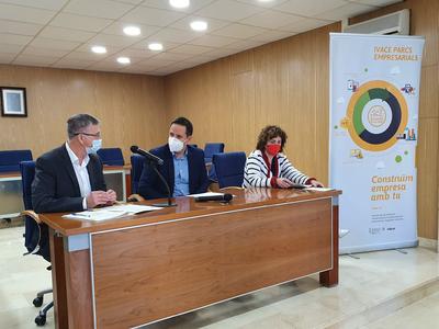 El Ivace subvencionará en 2021 las obras de mejora de 262 áreas industriales de 162 municipios y 30 comarcas de la Comunitat