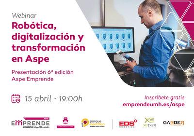 Robótica, digitalización y transformación en Aspe