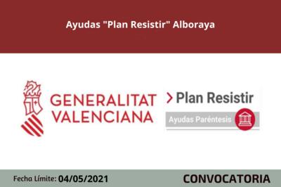"Ayudas ""Plan Resistir"" Alboraya"