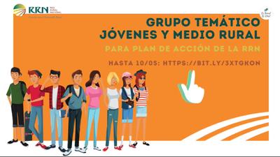 """Participación en Grupo Temático: """"Jóvenes en el medio rural"""""""