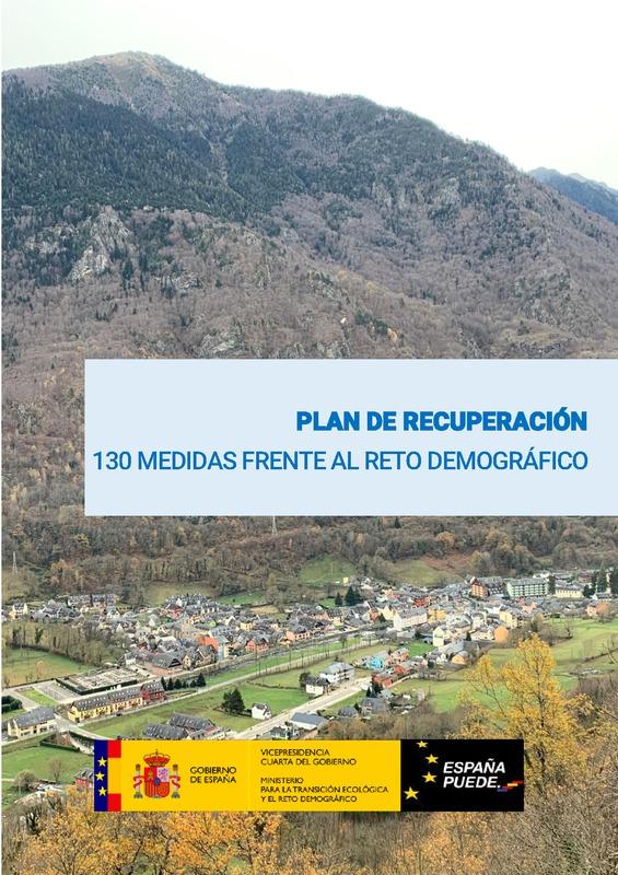 130 medidas plan recuperación entorno rural España